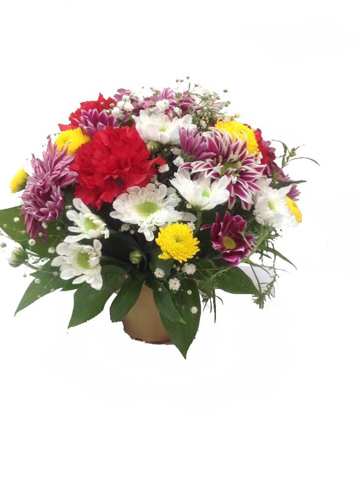Композзиция из натуральных цветков! 650. рублей!