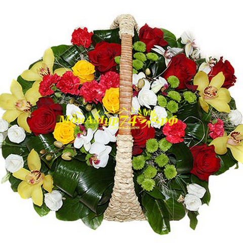 Цветочная корзина «Шарм»