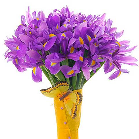 """Букет цветов""""Любовь и крылья"""""""
