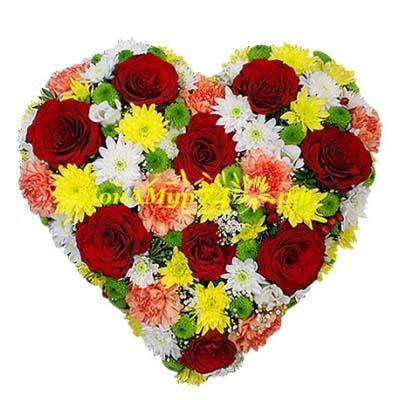 Композиция «Цвета любви»