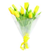 Букет из семи тюльпанов