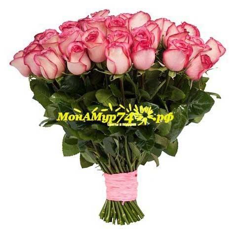 Акция Букет из 25 цветов «Карусель»