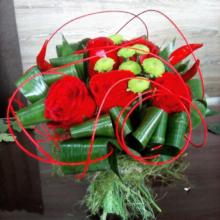 "Букет цветов ""Осенняя роза"""
