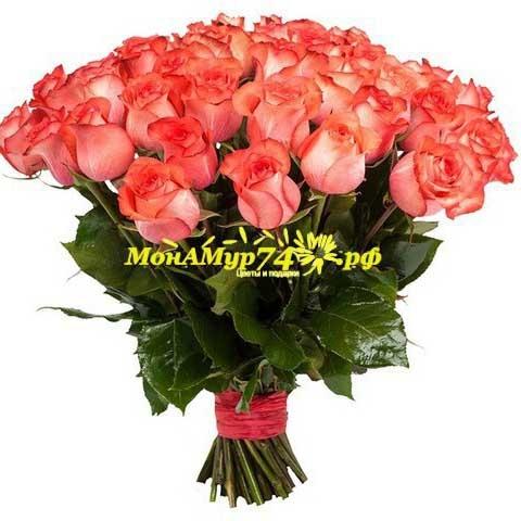 Акция Букет из 25 цветов «Игуана»