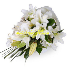 Букет из лилии «Белая лилия»
