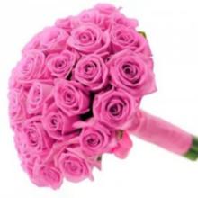 """Розовый букет """"Скрипка"""""""