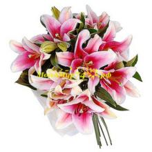 Букет из лилии «Розовая лилия»