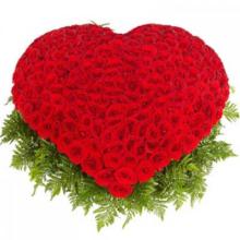 Корзина роз «301 ночь»