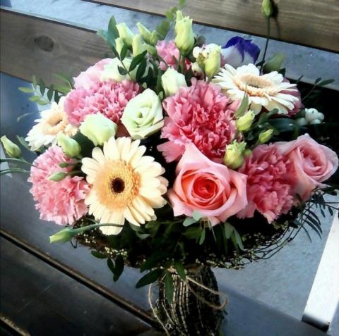 Букет цветов «Лучше неба!»