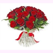 """Букет из 25 роз """"Мелодия любви"""""""