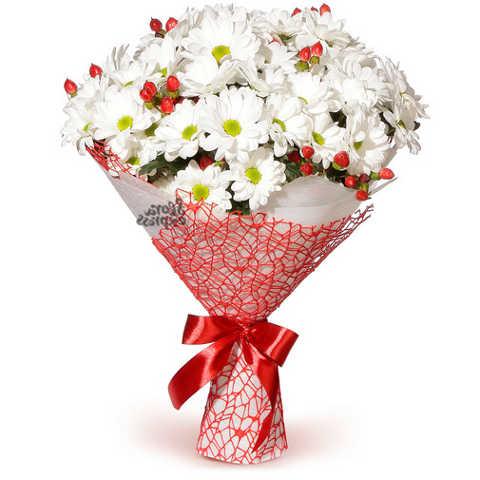 Доставка цветов в Челябинске Букет «Простая романтика»