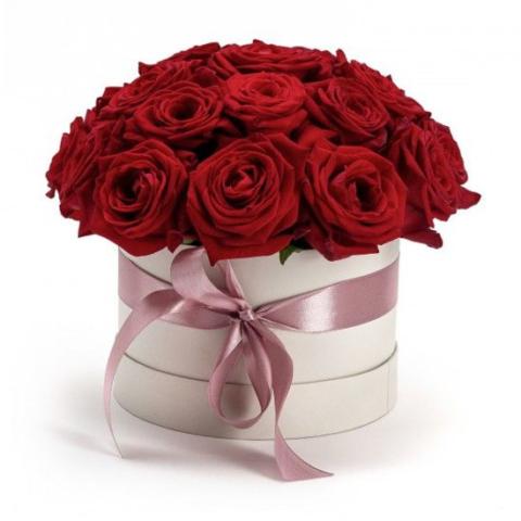 """Цветы в коробке """"Все Сердце!"""""""