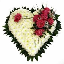 """купить цветы в Челябинске Сердце""""Класика"""""""