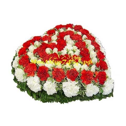Сердце из розы «Самая желанная»