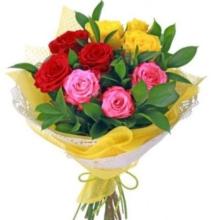 """купить Букет роз 9 роз """"Лето"""""""